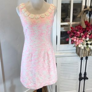 🌸Lily Pulitzer dress  with pearl embellishments